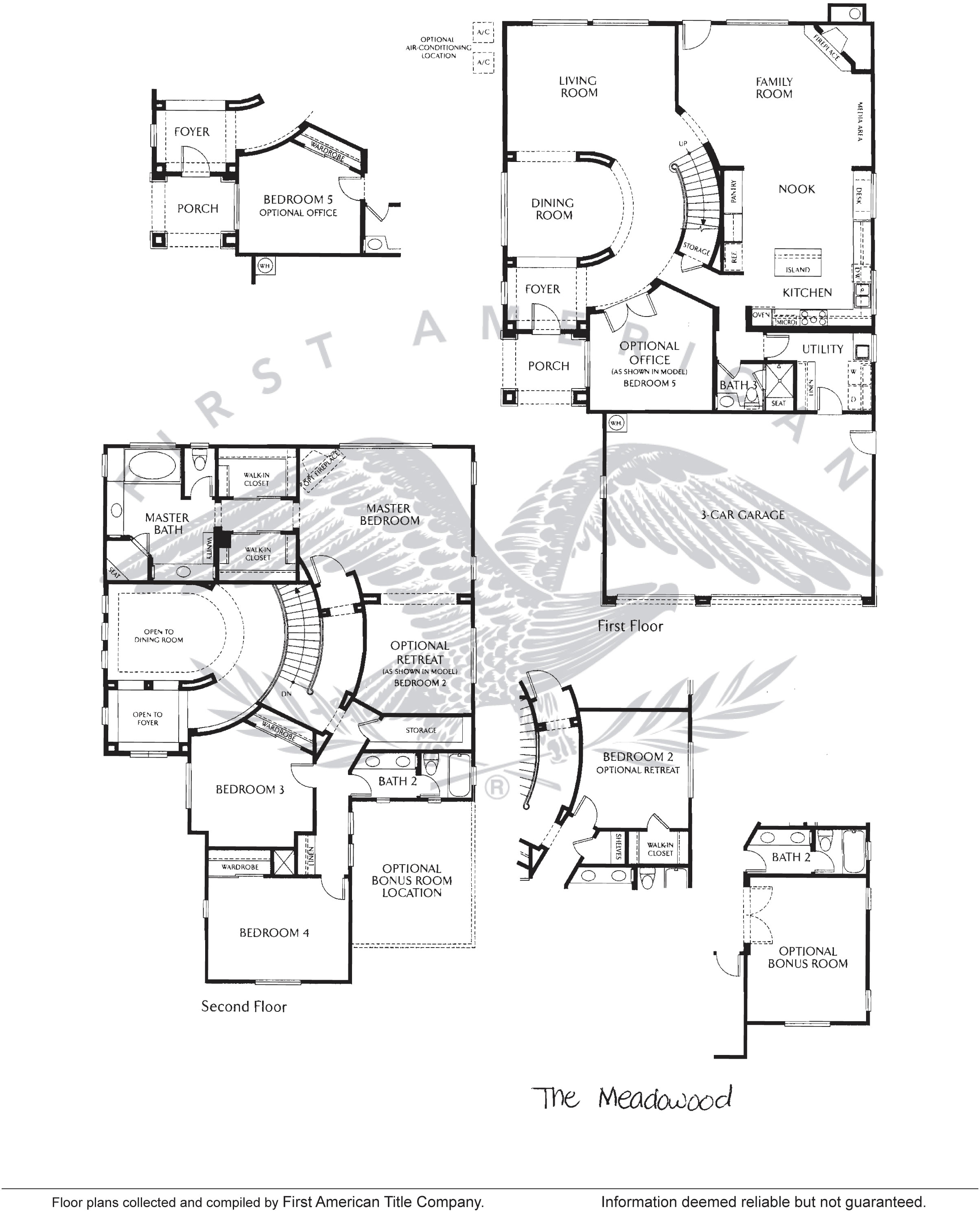 Sheffield At Calavera Hills Floor Plan For Residence 1